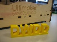 Ultimaker 3D printer op de Wereld Draait Door