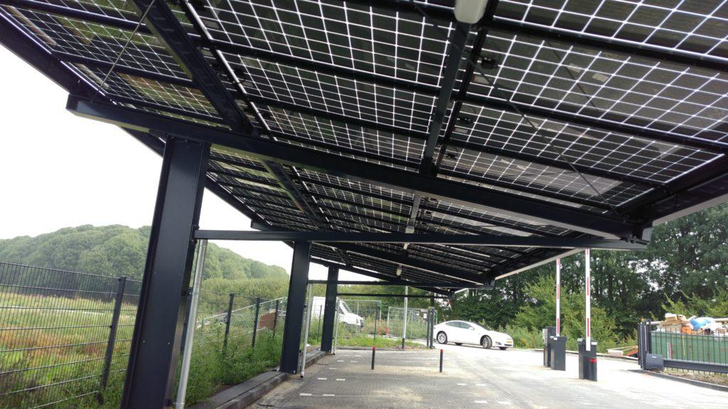Park under solar power